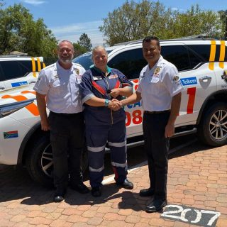 Netcare 911 has begun deploying new Toyota Fortuner response vehicles within our… 76956976 2684497314904721 3228286965170307072 n 320x320