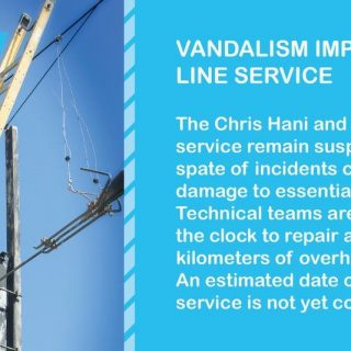 #ServiceUpdate Vandalism impacts train service. #CentralLineCT 77372391 3831019310256960 4007674180496523264 o 320x320