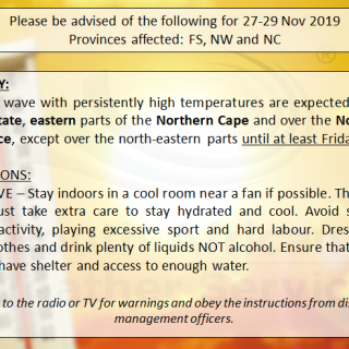 Please be advised of the following ADVISORY for a heat wave expected over the ce… 79014711 1157829244420397 5005914125860077568 n 320x320