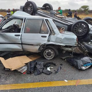 [POLOKWANE] One dead, one seriously injured in collision – ER24 Mall of North 2019 11 11 at 11