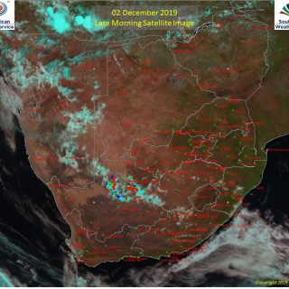 Late morning satellite image (02 December 2019) – Showers and thundershowers obs… 78690569 1163010443902277 6342132379255046144 o 320x320