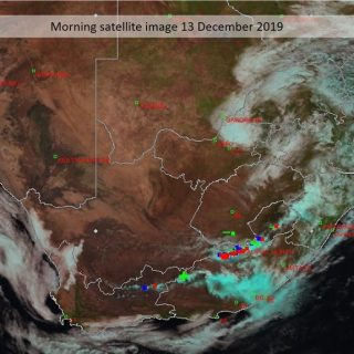 Morning satellite image (13 December 2019). Cloudy this morning in the north-eas… 79004071 1172976596238995 2937396458074144768 n 320x320