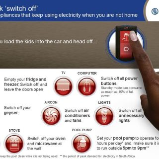 "Think ""switch off""  the appliances that keep using electricity when you are not … 79532367 3290021431024578 4038168882089820160 n 320x320"