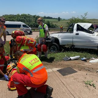 Single vehicle roll-over N2 south bound, 1 person has sustained moderate injurie… 79993999 3438453546229921 4809707933740826624 o 320x320
