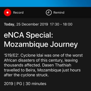 26 December 2019  Cyclone Idai – The Journey   For those who missed yesterdays b… 80124241 3444533235621952 3629376574916132864 o 320x320
