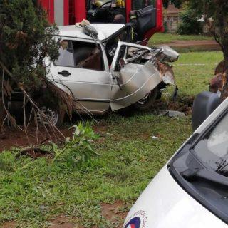 [VANDERBIJLPARK] Two dead, two critical in single-vehicle collision – ER24 Frikkie Meyer 2019 12 10 at 06