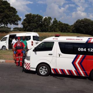 Eight adults have been injured when their taxi collided with a fence on the Frik… 82416913 2799191170142229 3014486323558875136 o 320x320