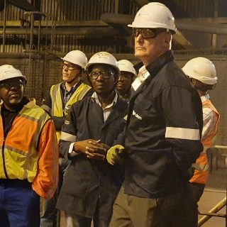 Eskom's Group Chief Executive, André de Ruyter as the chief safety officer doing… 83279106 3374267985933255 5790810173614325760 n 320x320