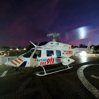 Gauteng Helicopter Emergency Medical Services: Netcare 2 a specialised helicopte… 83354029 2819199521434499 1394775438076674048 o 320x320