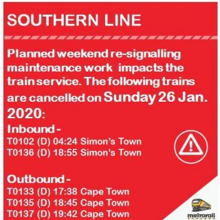 #SouthernLineCT #ServiceAdvisory : Planned Weekend re-signalling maintenance wo… 83800328 4040273192664903 3099218924433047552 n 320x320
