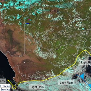 Late afternoon satellite image (15 March 2020). Light rain will persist along th… 89480193 1248098722060115 5429406040208703488 o 320x320