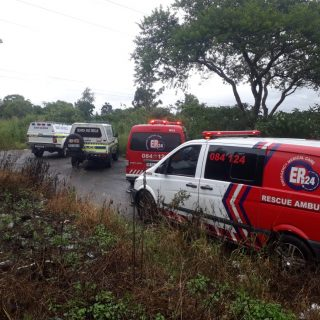 Yesterday, ER24 and Pietermaritzburg SAR were called to assist with a body recov… 89493497 2916396085088403 8479329559106289664 o 320x320