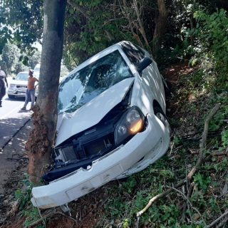 Single Vehicle Collision: Umdloti – KZN  Pictured is a white VW Polo that veered… 89836720 3137300799621826 2982568282688585728 o 320x320