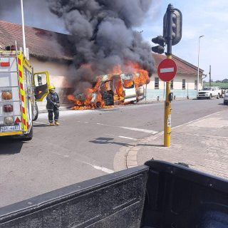 Taxi On Fire:  Tongaat – KwaZulu-Natal   Reaction Unit South Africa was called o… 90025943 3146989551986284 4336780563563151360 o 320x320