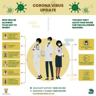 #Covid_19 #COVID2019 #StayHome #COVID19SouthAfrica #21daysLockdown #Coronavirus 90713120 2970303309657452 5143038210984640512 o 320x320