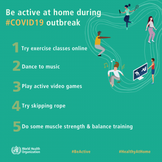 Be active and stay healthy at home! Here are some physical activities you can do… 90727816 3010041052374591 2402054129229758464 o 320x320