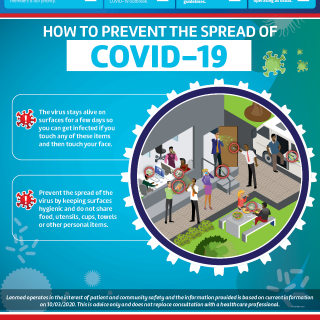 23 March 2020   PREVENT THE SPREAD OF COVID-19  The COVID-19 virus has the abili… 90735272 3721267887948484 4912700085562769408 o 320x320