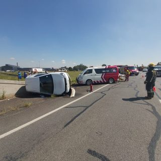 One person sustained minor injuries following a vehicle rollover on the R59 in t… 90780049 2923202771074401 3783022888127299584 o 320x320