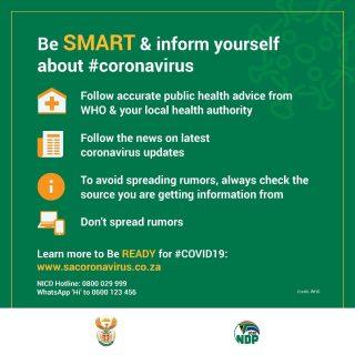 #Covid_19 #COVID2019 #StayHome #COVID19SouthAfrica #21daysLockdown #Coronavirus 91486457 2976915015662948 57470437696733184 o 320x320