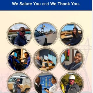 To our colleagues, the essential workers at #Eskom, who are going about renderin… 92173028 3550485561644829 8157393310407720960 n 320x320