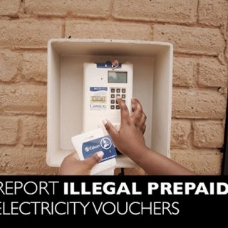 Illegal electricity tokens/vouchers DO NOT register on the Eskom system.  Your a… 92215505 3549958408364211 129317994948984832 n 320x320