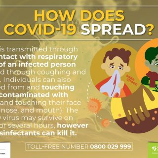 Viruses such as #COVID19 spread through droplets and contact of person-to-person… 92360460 2993462334008216 3950090055015464960 o 320x320