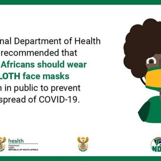 Cloth face mask recommendations: #MasksCOVID19 #ClothFaceMask #COVID_19_ZA 92462143 2998186176869165 5959841738284597248 n 320x320