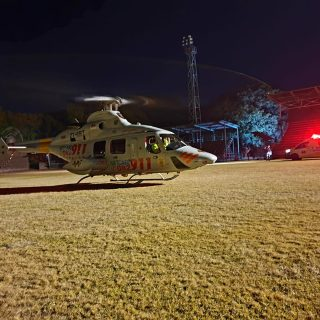 Gauteng Helicopter Emergency Medical Services: Netcare 1 a specialised helicopte… 109680630 3253513361336444 377841376151463588 o