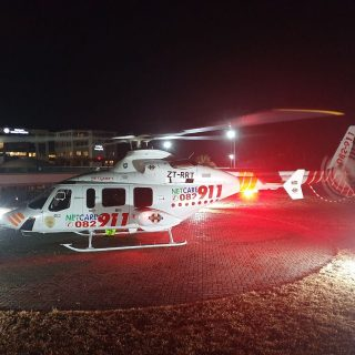 Gauteng Helicopter Emergency Medical Services: Netcare 1 a specialised helicopte… 109682543 3266736076680839 735207301660073516 o