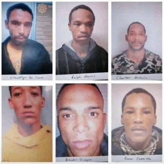 MALMESBURY PRISON BREAK:  63 of the 69 prisoners have been recaptured. These are… 116310914 3407781625919887 4052811209623354523 n