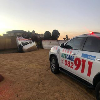 Gauteng: Netcare 911 responded to reports of a collision on Lapwing Street in Th… 116908706 3304032786284501 8063912418030030152 n