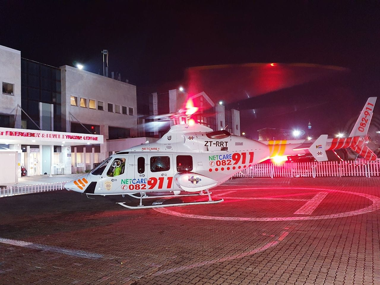 Gauteng Helicopter Emergency Medical Services: Netcare 1 a specialised helicopte… 117641369 3330362766984836 2215400592621027846 o