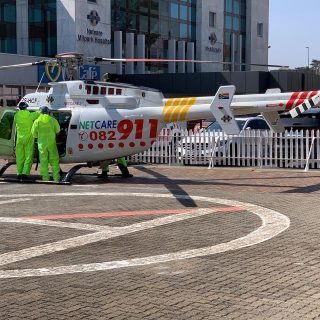 Gauteng Helicopter Emergency Medical Services: Netcare 2 a specialised helicopte… 117715823 3335484859805960 475593411604005915 o