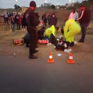 Policeman Run Over During Shooting: Phoenix – KZN  Members of Reaction Unit Sout… 118118667 3536590593026176 1630641730416991611 o