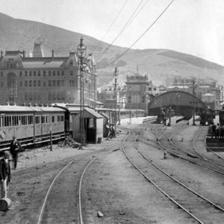 #ThrowbackThursday Cape Town's first railway station was a temporary wood and ir… 118214550 4898412183517662 8090633484664014037 n