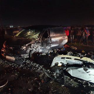 A second vehicle collision on Japhta K Masemola Road in Nyanga/Crossroads this w… 118282580 3337121086349232 5908893216804526969 o