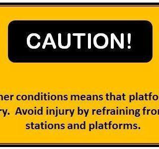 #BeTrainSmart Caution! 118309412 4898390283519852 9014934261178713689 n