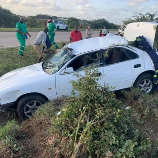 21 August 2020  6 injured- N2 Umhlali   Six people sustained moderate injuries a… 118345937 4358623067546293 8312961028149174655 o