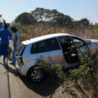 Vehicle Crashes After Avoiding Metal Sheeting: R102 Verulam – KZN  The driver of… 118395136 3558036250881610 1313827803405225886 o