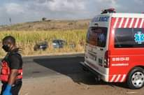 Overtaking Driver Collides Into Oncoming Vehicle: Inanda – KZN  A blue Mercedes … 118641375 3573063309378904 7088136363868246271 o