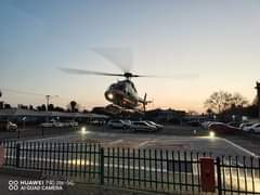 Gauteng Helicopter Emergency Medical Services: Netcare 3 a specialised helicopte… 118659417 3381119088575870 810728883753197395 o