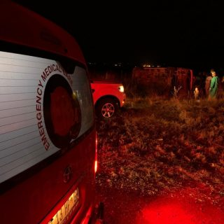 [BRANDVLEI] Fifteen people injured in a single taxi rollover WhatsApp Image 2020 08 28 at 21