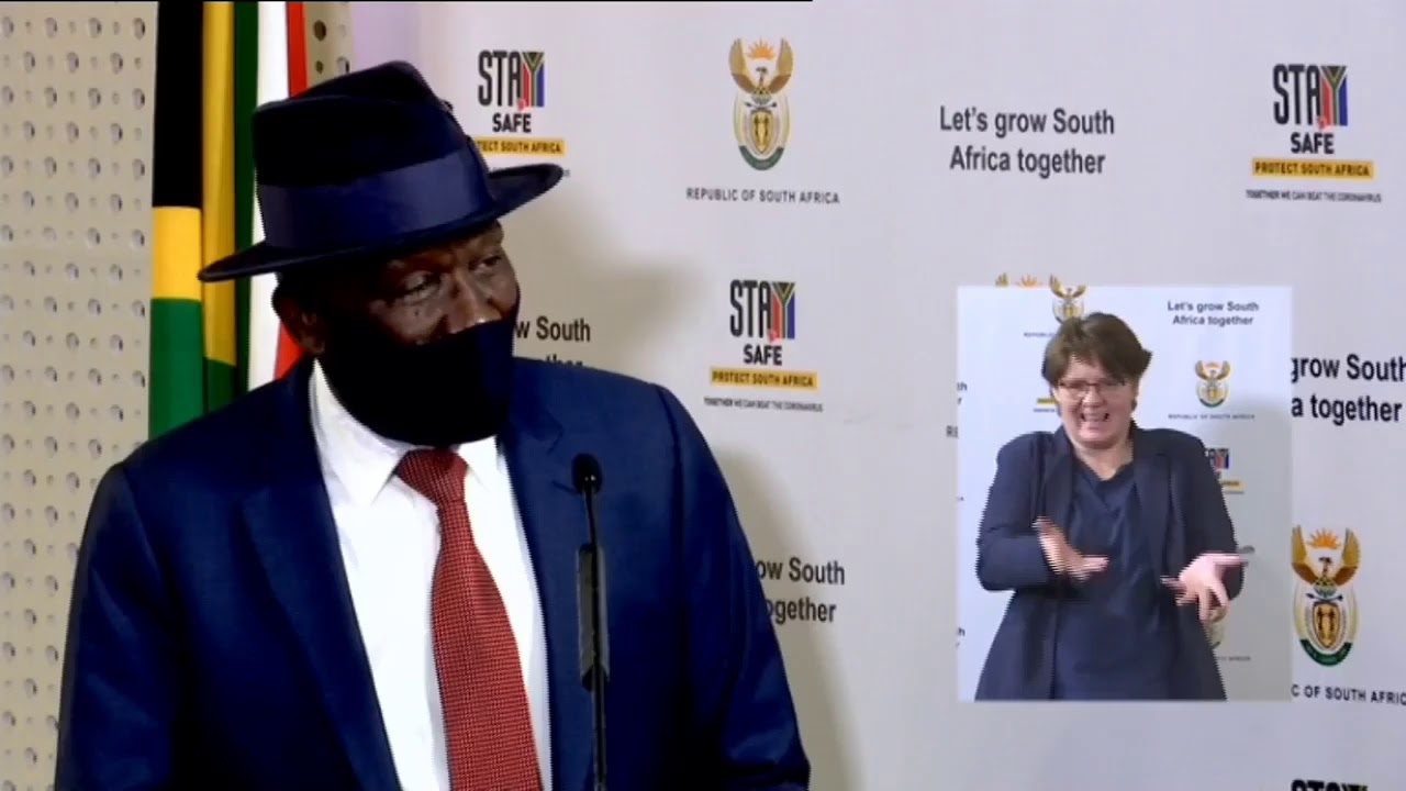 Minister of Police, General Cele releases crime statistics for the first quarter 2020/2021 maxresdefault live