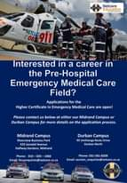 Interested in a career in the Pre-Hospital Emergency Medical Care Field?  Applic… 118653860 3380531488634630 1376354683623392691 o