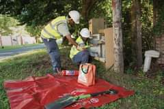 Only Eskom trained and authorized personnel are allowed to work on the power lin… 118766759 3998084216884959 8975213714355485644 o