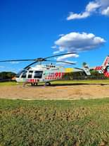 Gauteng Helicopter Emergency Medical Services: Netcare 3 a specialised helicopte… 118787365 3390439817643797 1119620250523816750 o