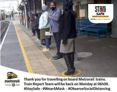 Evening   . The #TrainreprtTeamCT is signing off.  Back on Monday. For Weekend t… 118807336 4978614232164123 7288896806278463783 n