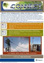 Beware of low hanging power cables and wires on electrical lines.   Report elect… 118871760 4004816606211720 7446442451895894474 o