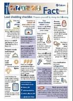 Reminder: #Loadshedding stage 1 will commence from 16:00 today until 22:00. Chec… 119006009 4018247444868636 2407524408925573001 n