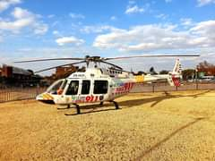 Gauteng HEMS: Netcare 2 a specialised helicopter ambulance has been activated fo… 119601816 3433316203356158 2982041455158745050 o
